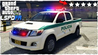 LSPDFR   POLICIA DE COLOMBIA (TOYOTA 4X4)