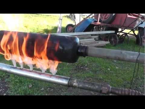 Used Motor Oil Gasifier v2.1S - Increased Throughput & Improved Burner