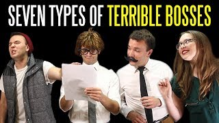 Seven Types of TERRIBLE BOSSES
