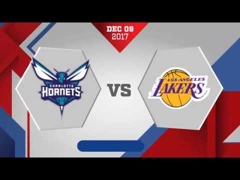 Los Angeles Lakers vs Charlotte Hornets: December 9, 2017