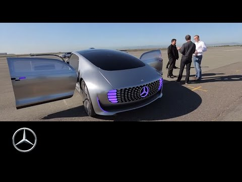 Mercedes-Benz F 015 Luxury in Motion: A Driving Experience of a Different Kind