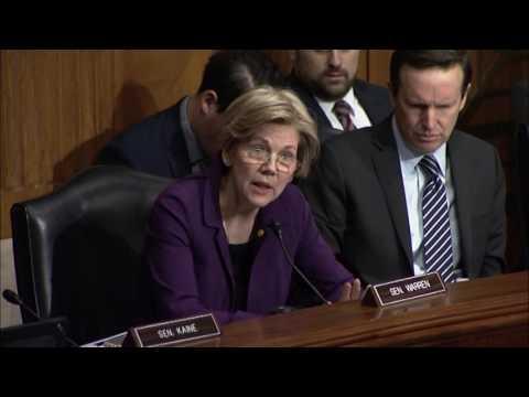 Senator Elizabeth Warren Questions Labor Secretary Nominee Acosta