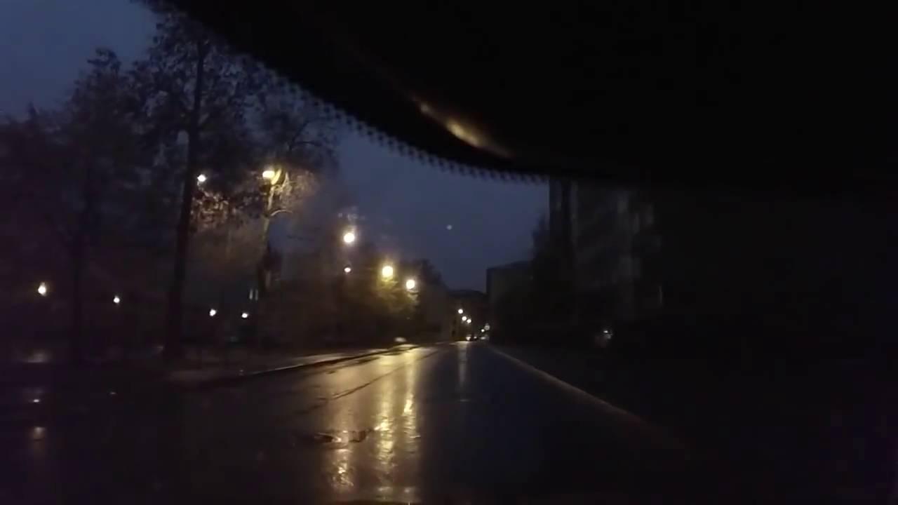 Авария на перекрёстке ул  Метростроевцев и Молодёжного переулка  ДТП