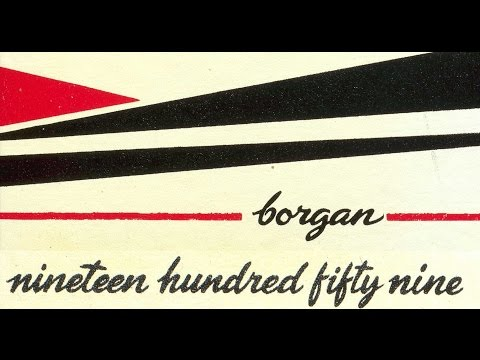 1959 Borger High School yearbook: The Borgan