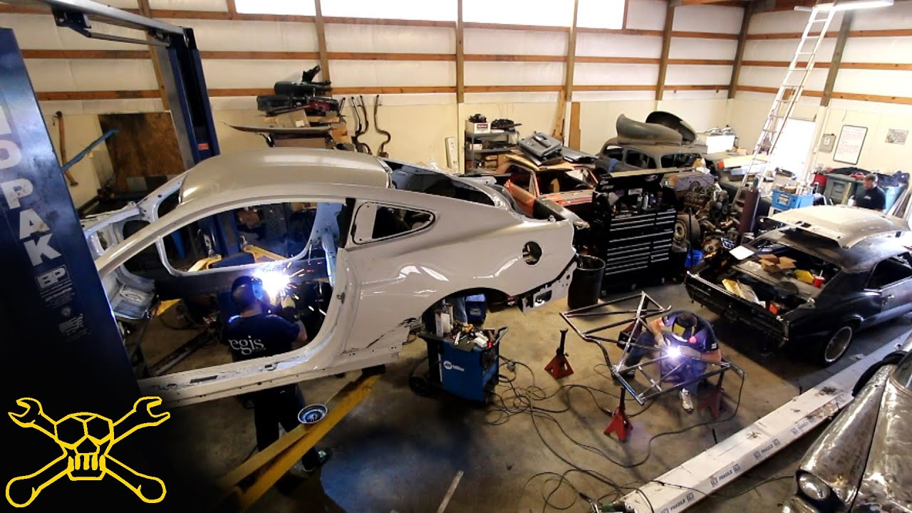Build A Car >> 2015 Mustang Race Car Build | Preview - YouTube