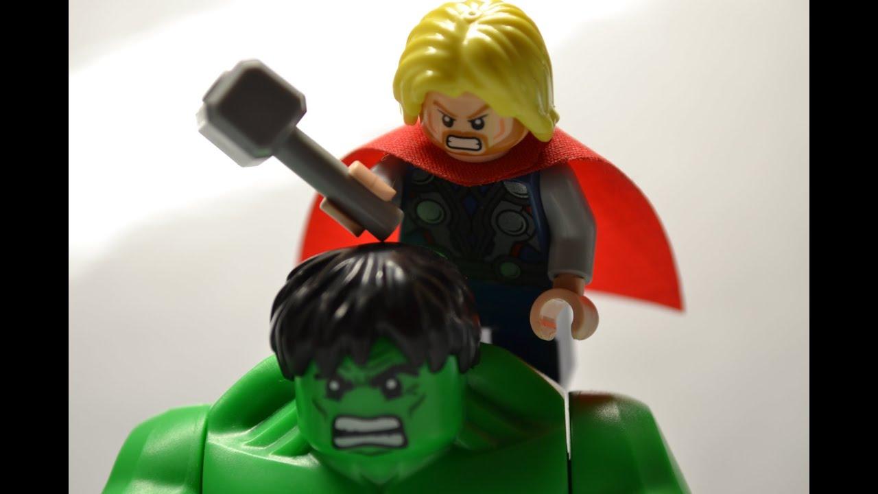 lego avengers hulk vs thor -#main