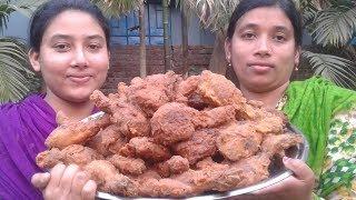 KFC Fried Chicken Recipes | KFC Style Fried Chicken Recipe Cooking By Street Village Food