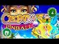 ⭐️ NEW -  😄 Cleopatra Pinball slot machine, Pinball Bonus & Tips