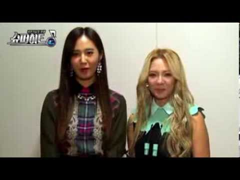 snsd yuri and hyoyeon exo kai and lay - YouTube