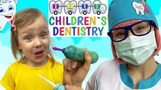 Dentist Song Spanish Version   Canciones Infantiles con Alex y Nastya