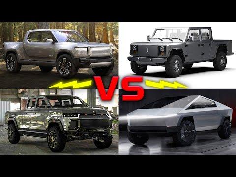 Future Electric Trucks Full Comparison // Tesla, Rivian, Atlis, Bollinger