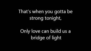 Pink - Bridge Of Light (Lyrics)