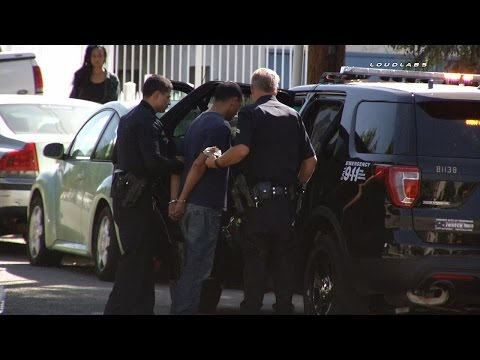 Two Victims Shot on CSUN Campus / Northridge  RAW FOOTAGE