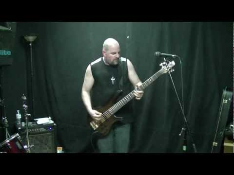 "Machine Head Bass Audition - ""Beautiful Mourning"" by Chris Boshis"