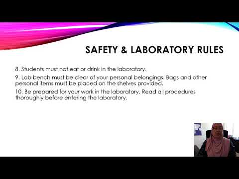 safety-and-laboratory-rules