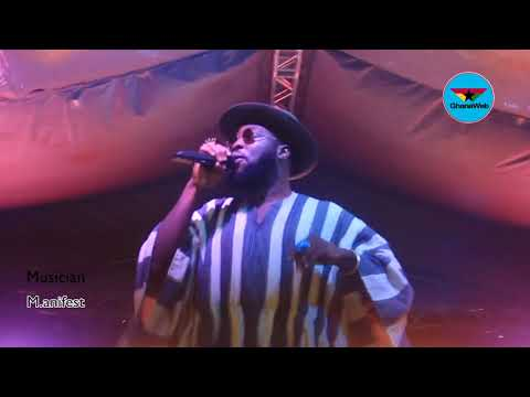 M.anifest performs 'Someway bi' at Now Here Cool concert
