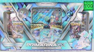 Pokemon Primarina GX Premium Collection Box Opening EpicTCGChannel