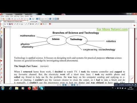 Unit3 Advances in science and technology
