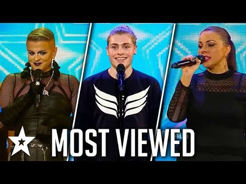 TOP MOST VIEWED Auditions on Ireland&39;s Got Talent  Got Talent Global