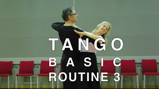 How to Dance Tango - Basic Routine 3