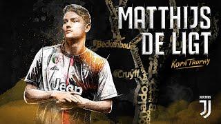 Juventus' Matthijs De Ligt Wins The Kopa Trophy!