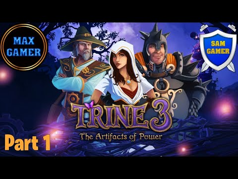 Playing Trine 3 - The Artifacts of Power (Part1) |