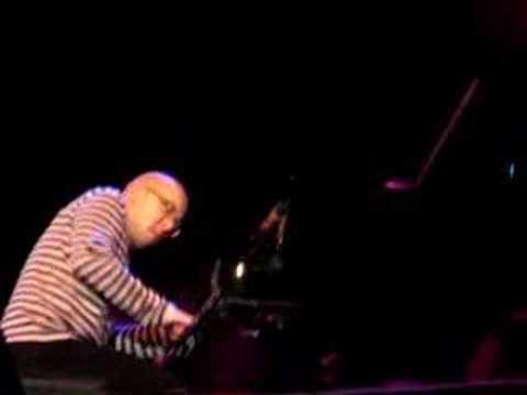 """Marcin """"Moby"""" Wasilewski on piano, Bratislava Jazz Days 2007"""