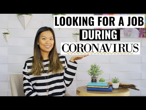 What To Expect When Looking For A Job During Coronavirus | Finding A Job In A Pandemic