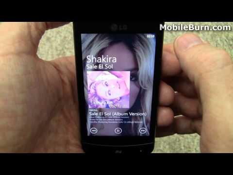 LG Optimus 7 Windows Phone 7 smartphone review - part 1 of 2