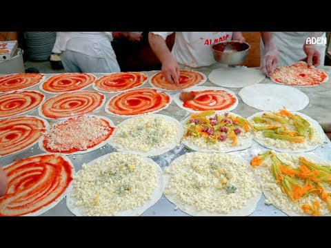 Food In Rome ITALY - Busy Pizzeria