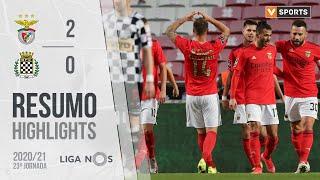 Highlights   Resumo: Benfica 2-0 Boavista (Liga 20/21 #23)