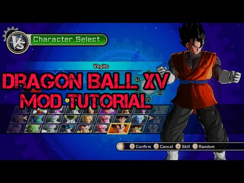 Dragon Ball Xenoverse - How To Install Mods