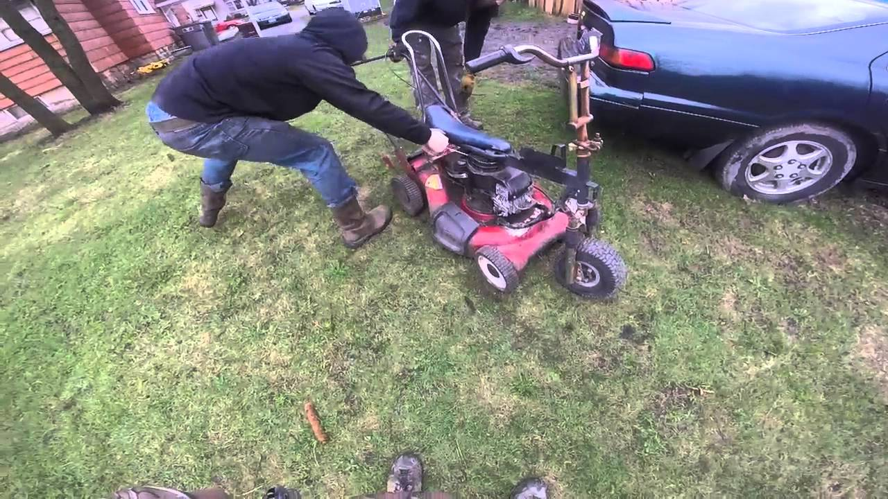 Homemade Riding Lawn Mower