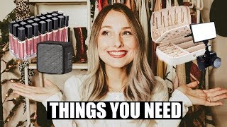 AMAZON FAVORITES: Beauty, Tech, and Travel! ♡