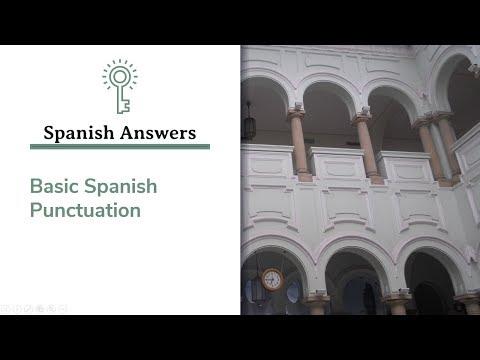 Spanish Answers, Episode 9: Basic Punctuation