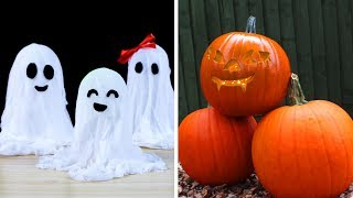 Awesome Last Minuite Halloween Craft Compilation by HooplaKidz How To
