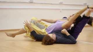 Contact Improvisation: Sasha Bezrodnova and Katja Mustonen at a Focused Jam - Part 1
