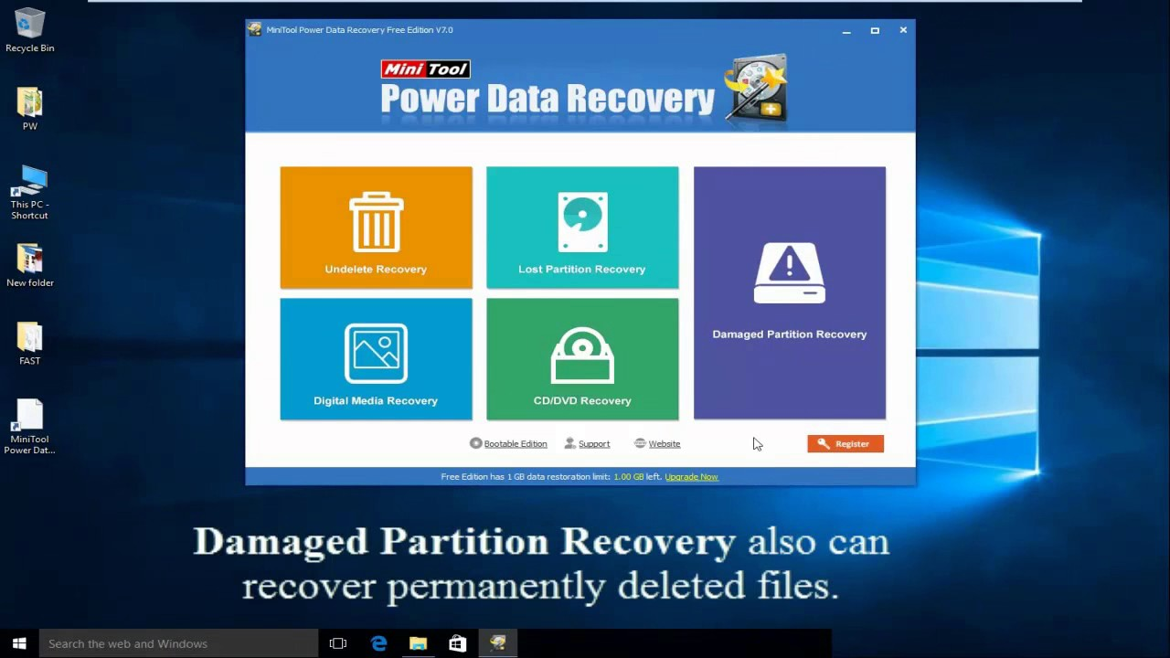 Look! 4 Ways to Recover Deleted Photos Windows 7/8/10