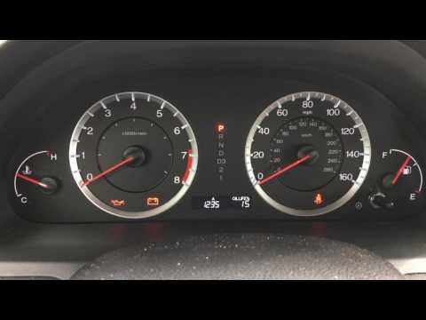 2009 Honda Accord Wrench Light Reset