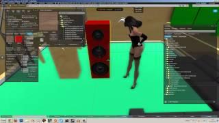 Let's Play Second Life #24 - Tutorial - Lautsprecher Boxen für unsere Disco bauen