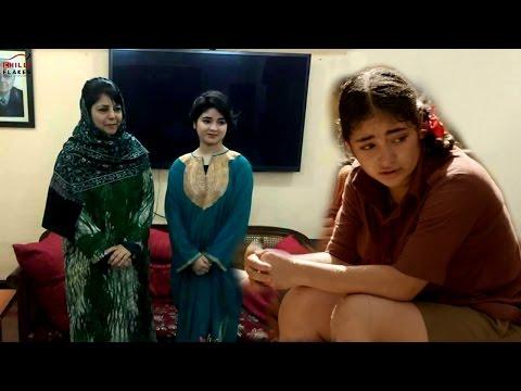 Dangal Girl Zaira Wasim Apologises After Meeting Kashmir CM Mehbooba Mufti