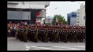9 МАЯ 2015 г Луганск Видео от Drakulaboss(Военный парад в Луганске в честь Победы 9-е Мая!, 2015-05-10T15:41:01.000Z)