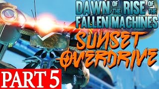 Sunset Overdrive Dawn of the Rise of the Fallen Machines DLC GAMEPLAY WALKTHROUGH Part 5