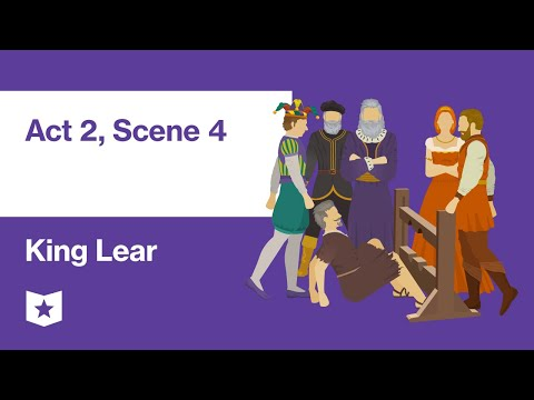 King Lear By William Shakespeare | Act 2, Scene 4