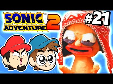 CROSSOVER DOS PERSONAGENS DO CANAL - Sonic Adventure 2 #21