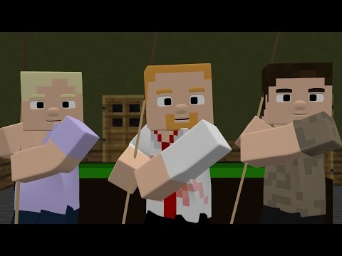 Shaun Of The Dead Don't Stop Me Now Scene in Minecraft