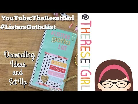 TheResetGirl's #ListersGottaList™ Challenge – Setting Up You