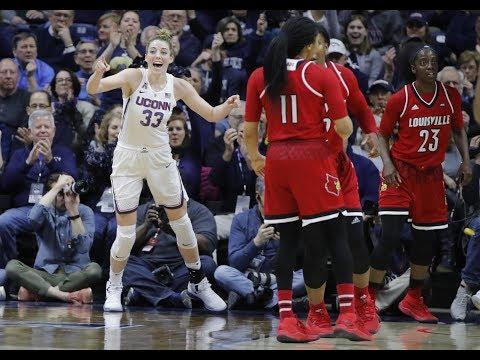 Women's Basketball Highlights - #1 UConn 69, #4 Louisville 58