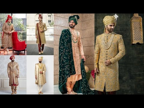 Royal Groom's Sherwani Designs//Wedding Sherwani//Groom'sSherwani