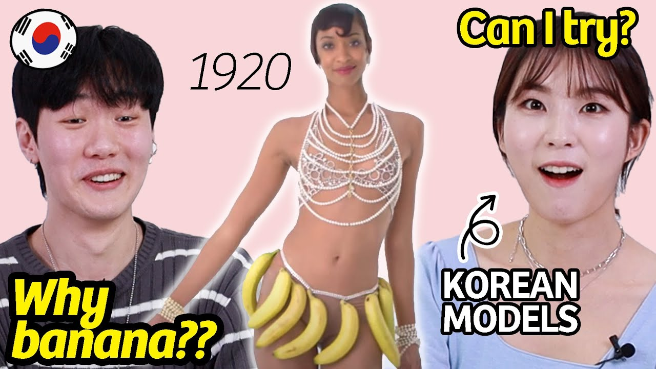 Korean Models React to 100 Years of CONTROVERSIAL Fashion!